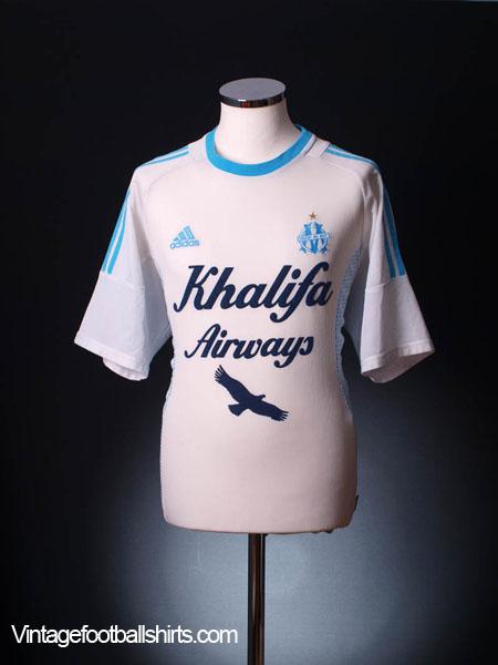 2002-03 Olympique Marseille Home Shirt L