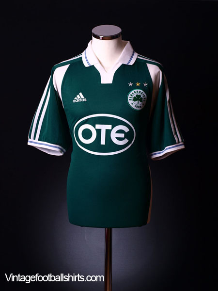 2002-03 Panathinaikos Home Shirt *New* L