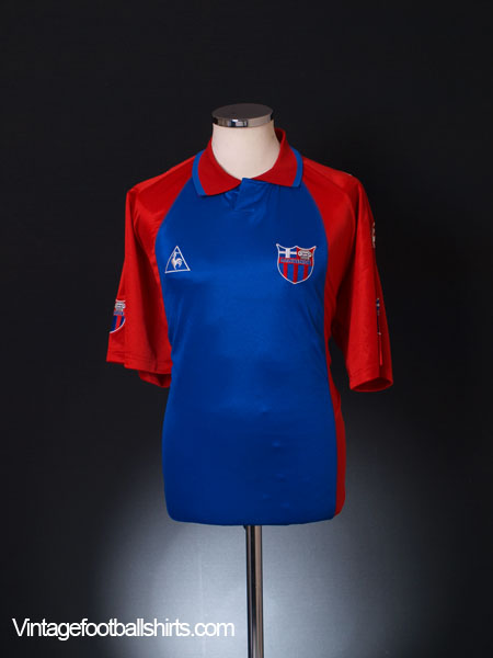 2002-03 Panionios Home Shirt *As New* L