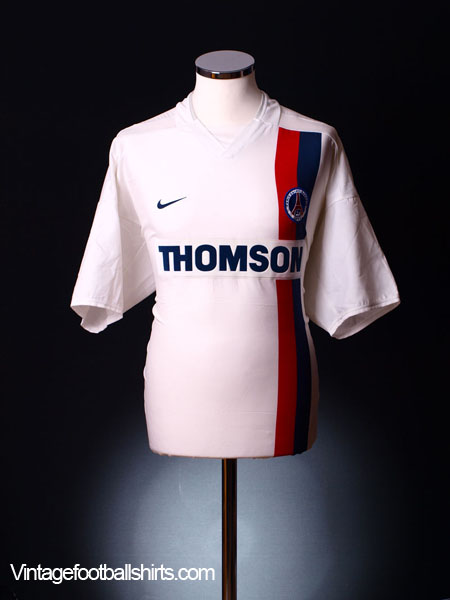 2002-03 Paris Saint-Germain Away Shirt XL