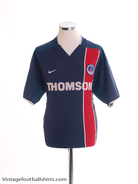 2002-03 Paris Saint-Germain Home Shirt *Mint* XL - 184377