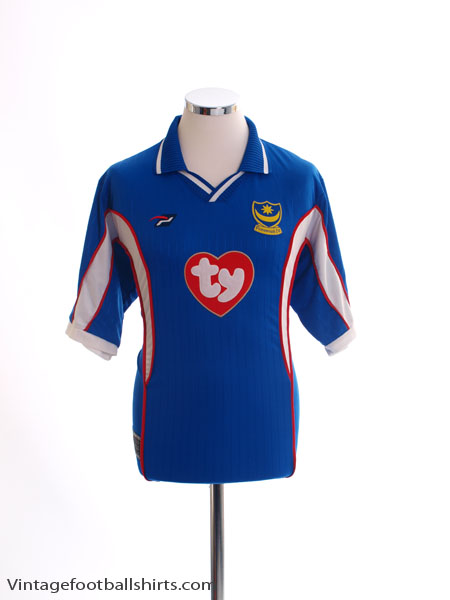 2002-03 Portsmouth Home Shirt M