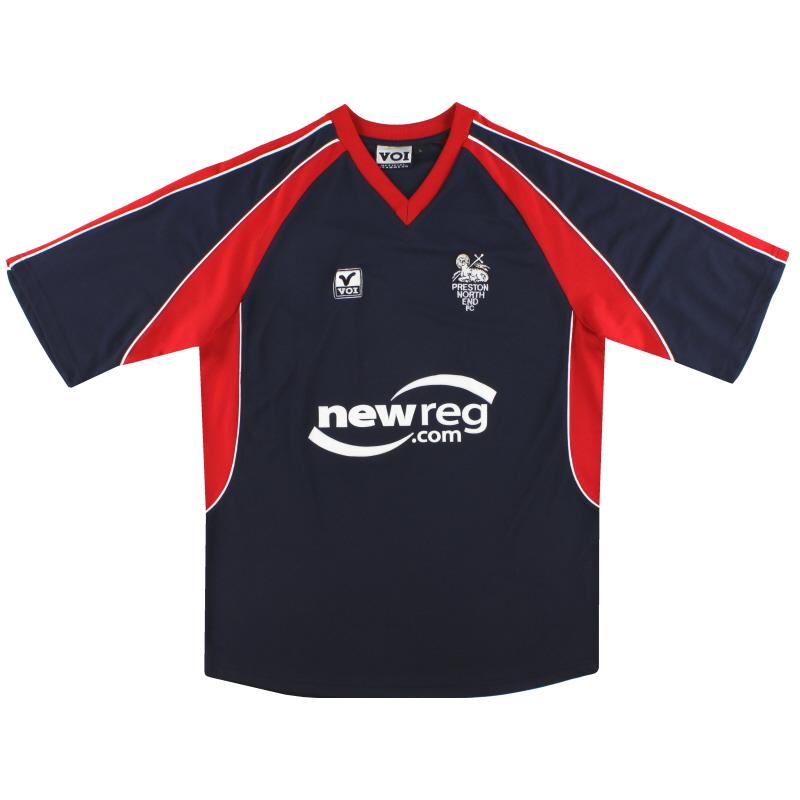 2002-03 Preston Away Shirt *Mint* L