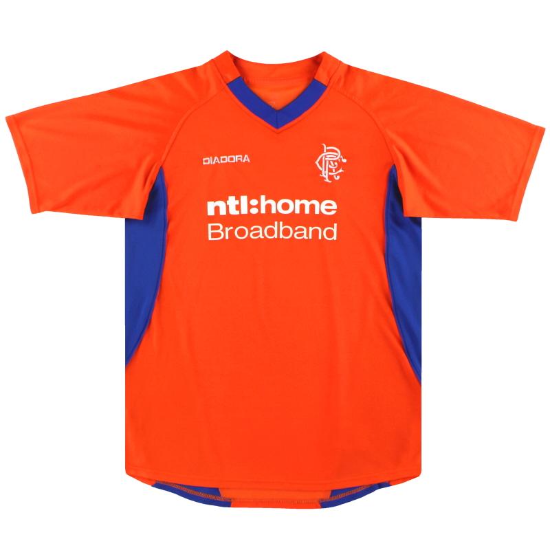 2002-03 Rangers Diadora Away Shirt Y