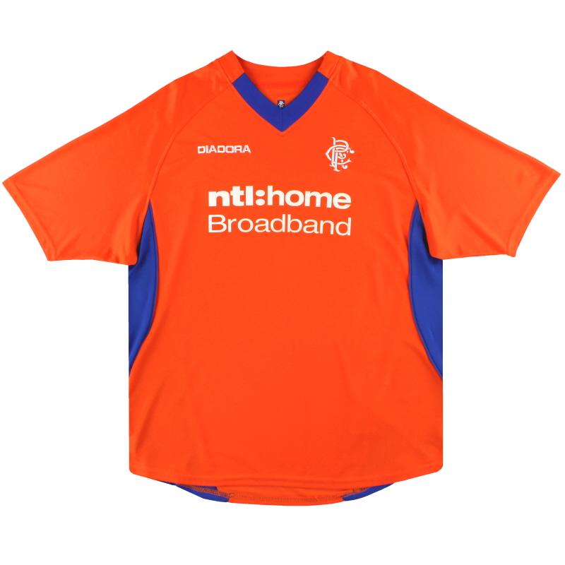 2002-03 Rangers Diadora Away Shirt *Mint* L