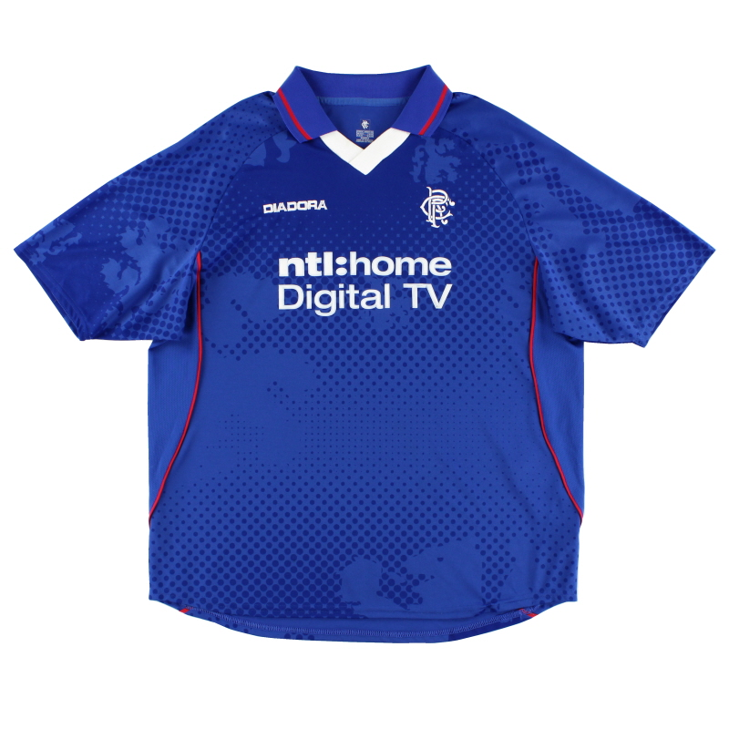 2002-03 Rangers Home Shirt XL
