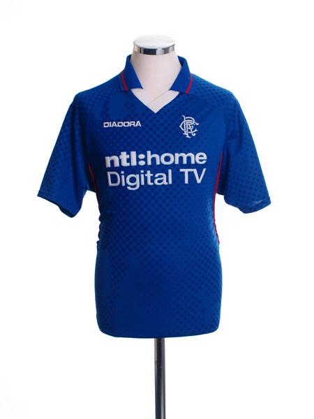 2002-03 Rangers Home Shirt S