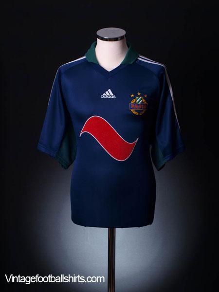 2001-03 Rapid Vienna Away Shirt *Mint* L
