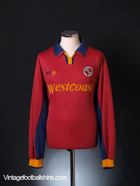 2002-03 Reading Away Shirt L/S XL