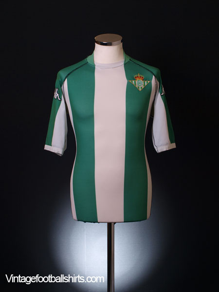 2002-03 Real Betis Home Shirt L