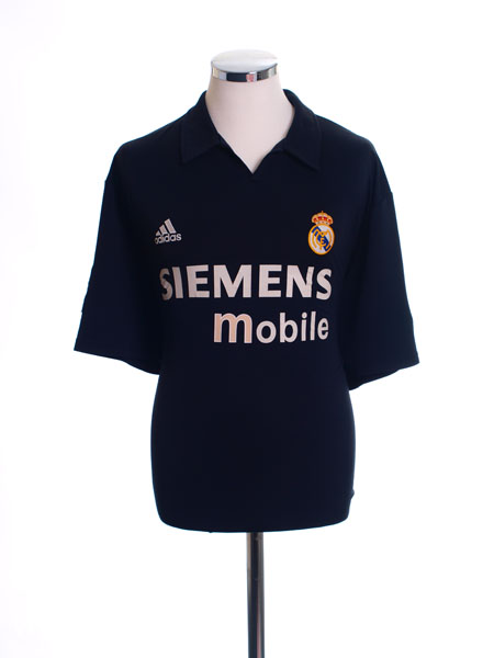 2002-03 Real Madrid Centenary Away Shirt L