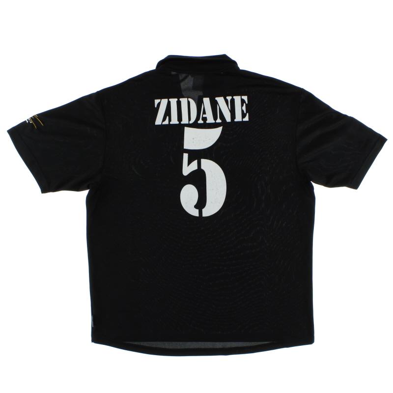 2002-03 Real Madrid Centenary Away Shirt Zidane #5 XL - 156651