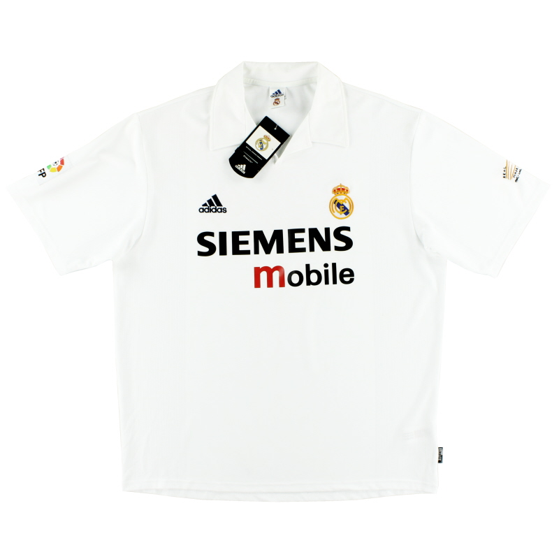 2002-03 Real Madrid Centenary Home Shirt *w/tags* XL - 156653