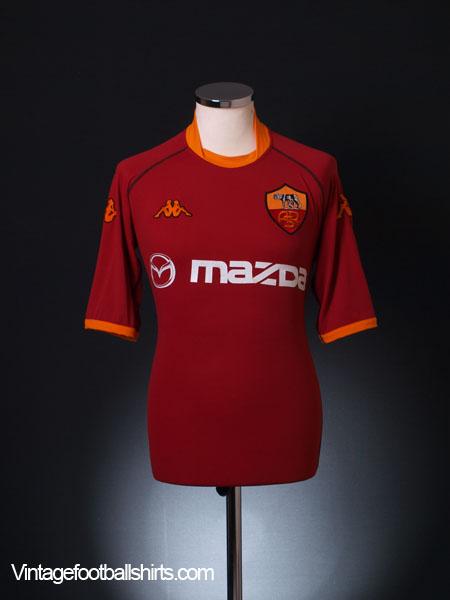 2002-03 Roma Home Shirt XL