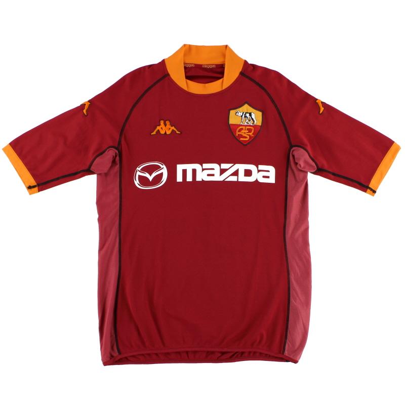 2002-03 Roma Home Shirt XXL