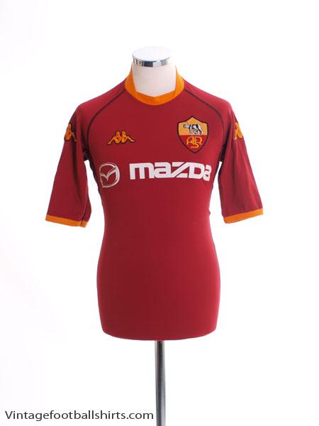 2002-03 Roma Home Shirt S