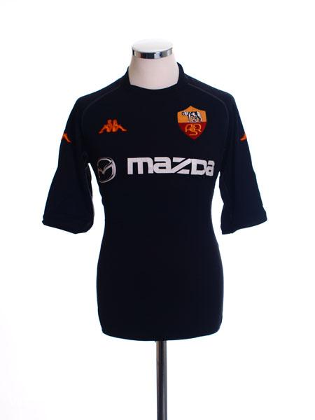 2002-03 Roma Third Shirt XL