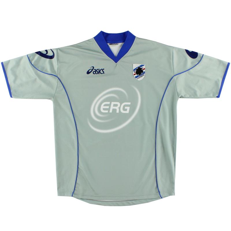 2002-03 Sampdoria Training Shirt XL