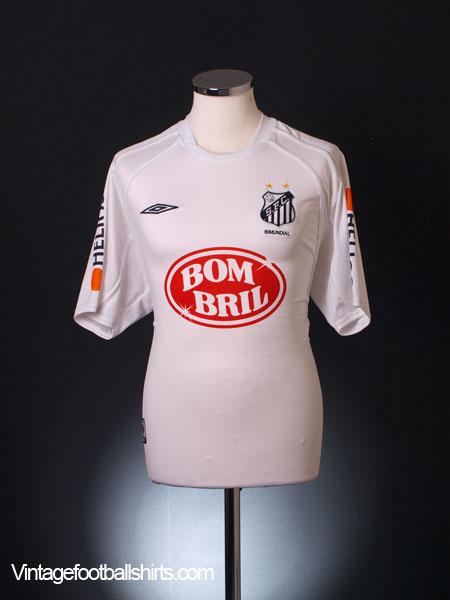 2002-03 Santos Home Shirt M
