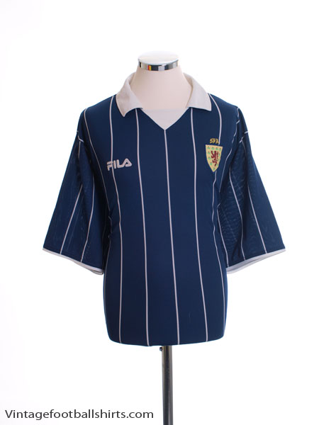 2002-03 Scotland Home Shirt XL