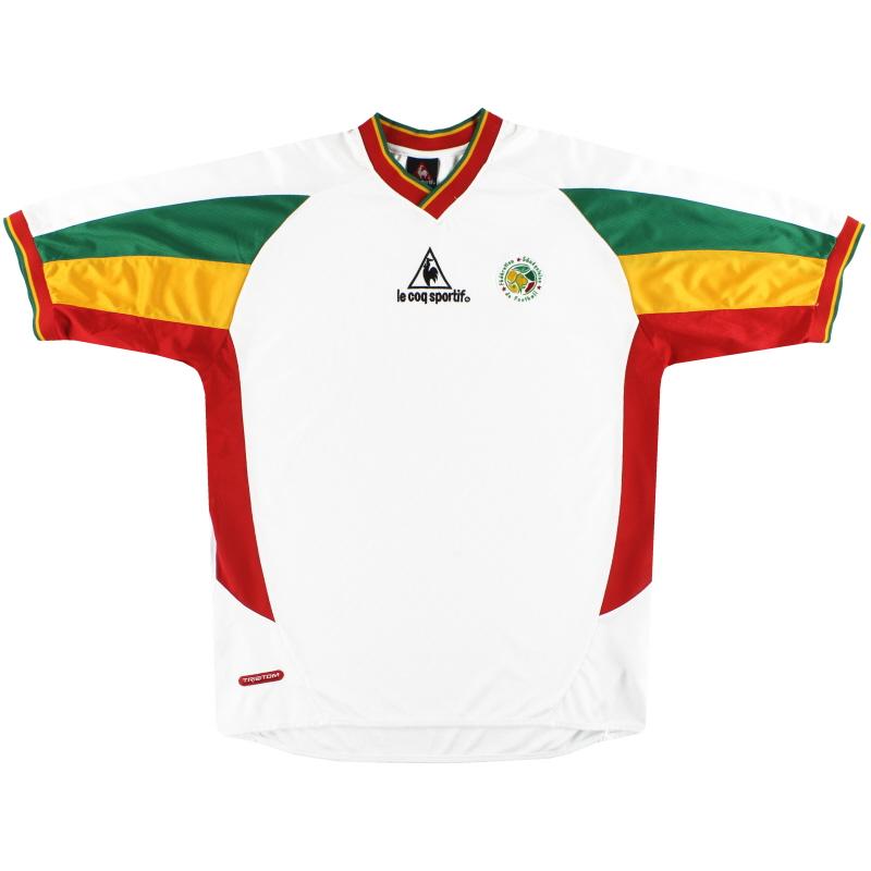 2002-03 Senegal Le Coq Sportif Home Shirt XL