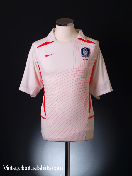 2002-03 South Korea Player Issue Away Shirt L
