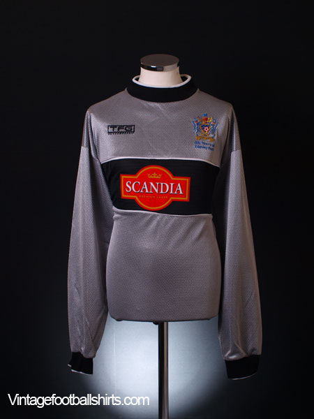2002-03 Stockport County 'Edgeley Park' GK Shirt *Mint* XL