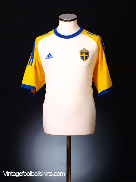 2002-03 Sweden Away Shirt M