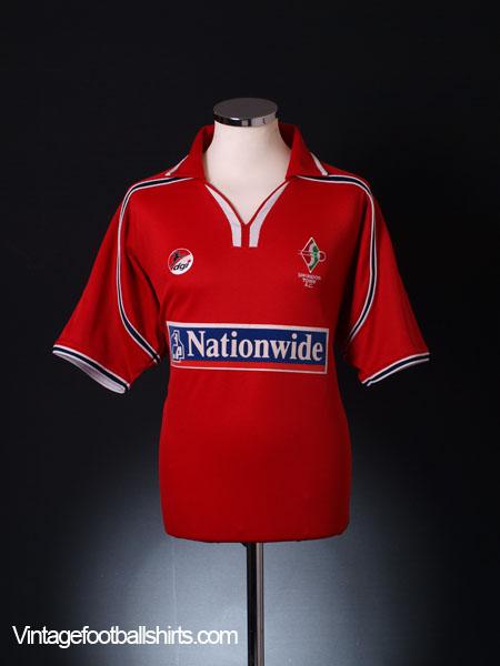 2002-03 Swindon Town Home Shirt XL