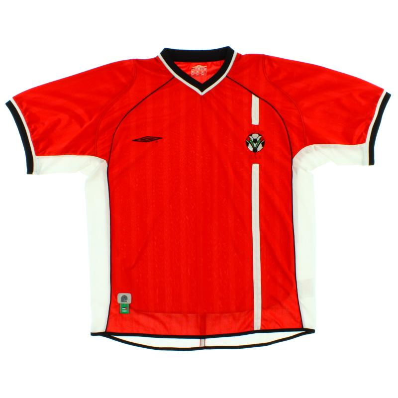 2002-03 UAE Away Shirt L