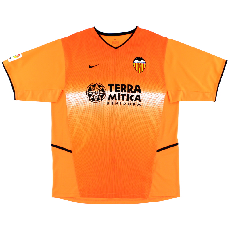 2002-03 Valencia Away Shirt M