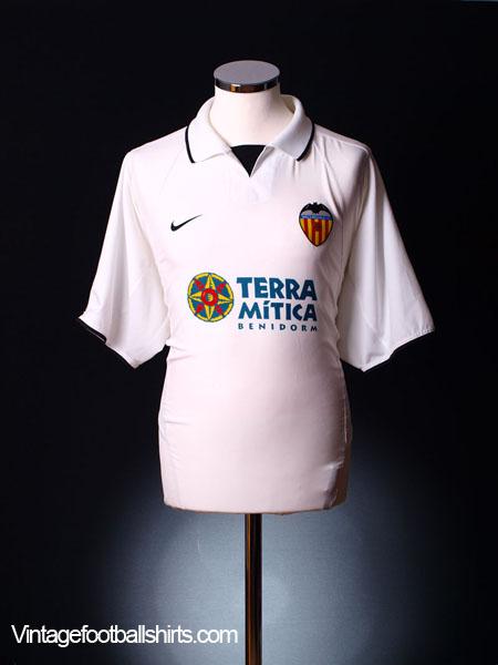 2002-03 Valencia Home Shirt XL