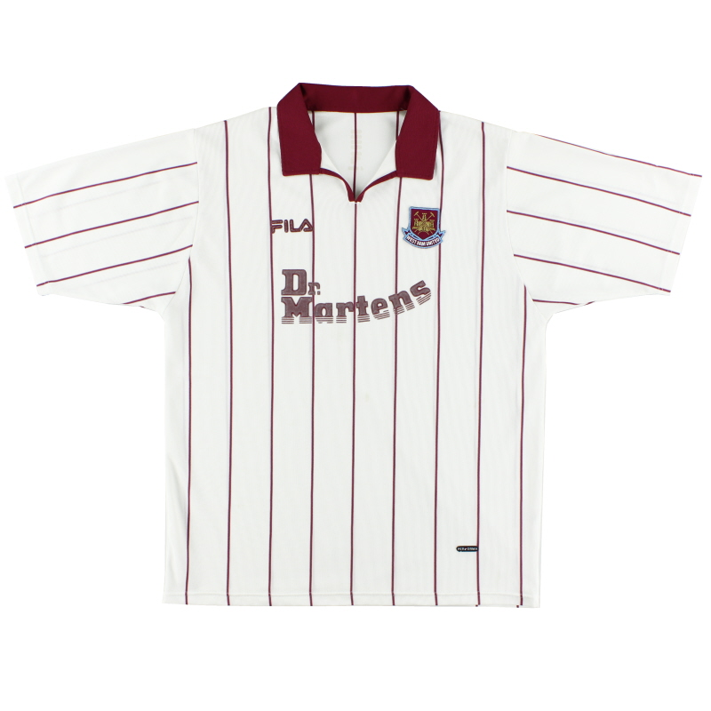 2002-03 West Ham Away Shirt XL