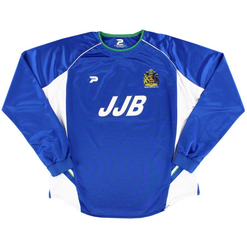 2002-03 Wigan Home Shirt L/S XL