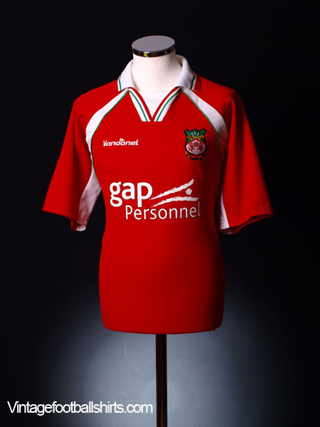 2002-03 Wrexham Home Shirt L