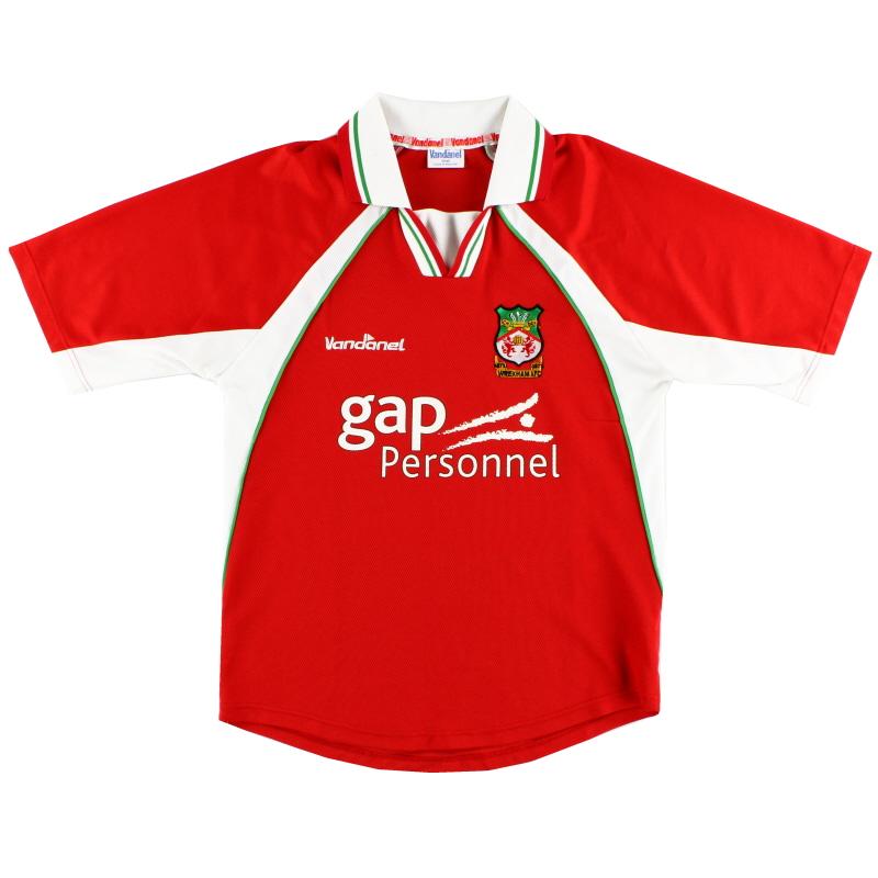 2002-03 Wrexham Home Shirt S