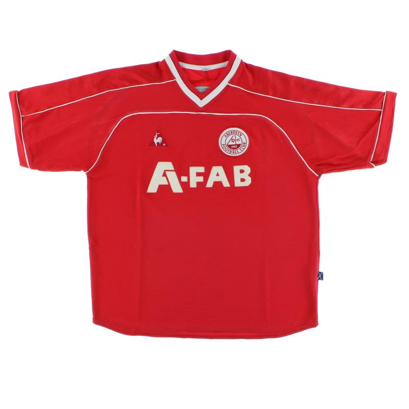 2002-04 Aberdeen Home Shirt L
