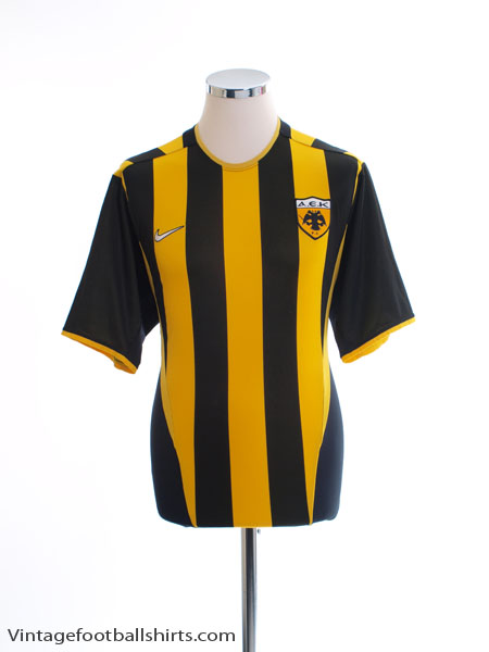 2002-04 AEK Athens Home Shirt M
