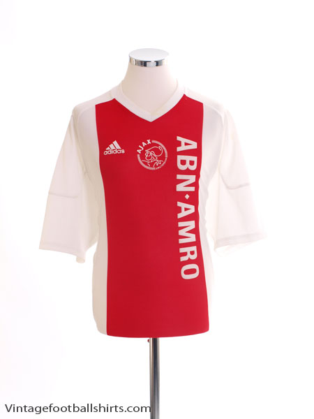 2002-04 Ajax Home Shirt *Mint* L - 156573