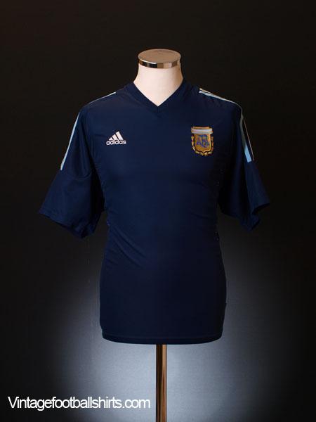 2002-04 Argentina Away Shirt L