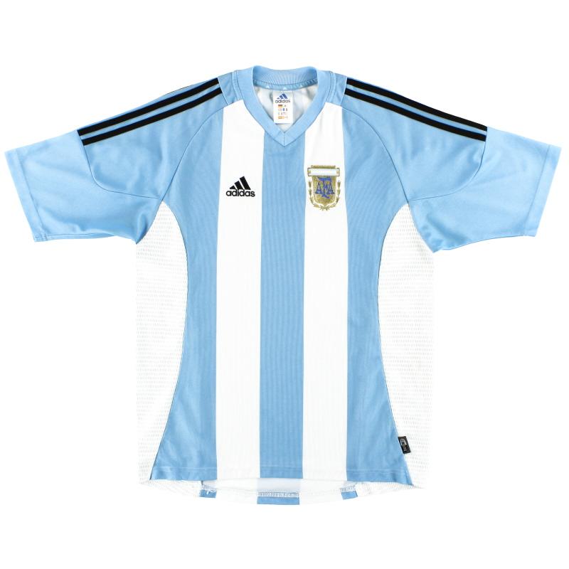 2002-04 Argentina adidas Home Shirt *Mint* M - 167309