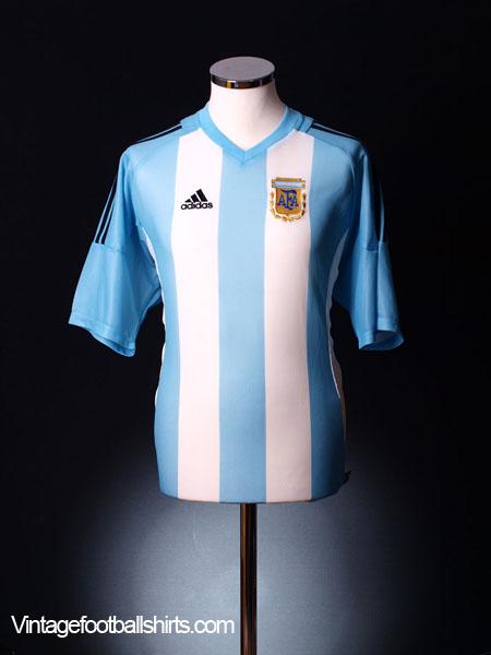 2002-04 Argentina Home Shirt L