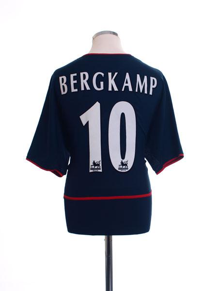2002-04 Arsenal Away Shirt Bergkamp #10 XXL