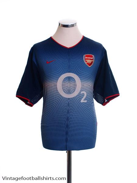 2002-04 Arsenal Away Shirt S