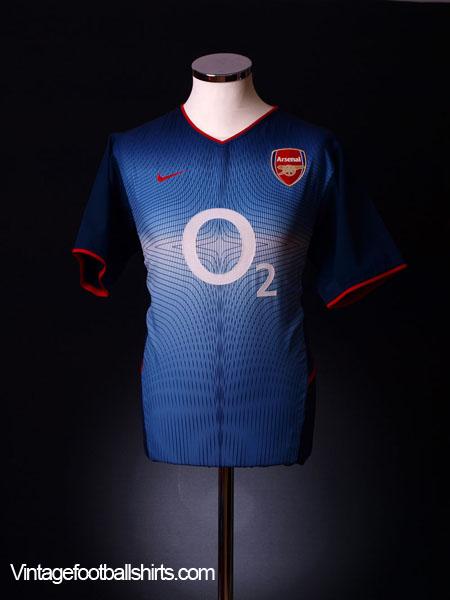 2002-04 Arsenal Away Shirt XL