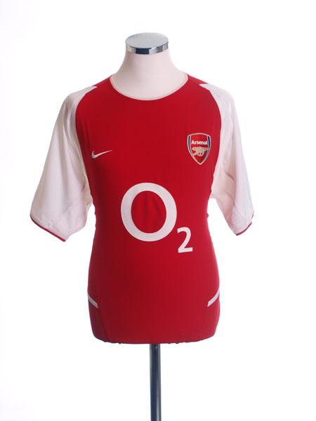 2002-04 Arsenal Home Shirt *Mint* M