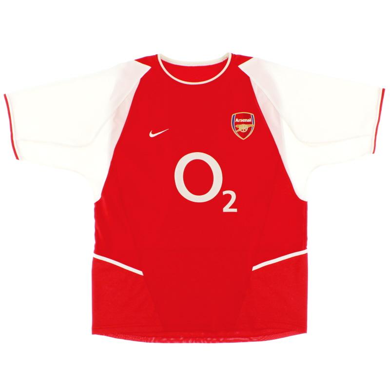 2002-04 Arsenal Home Shirt L.Boys - 464393