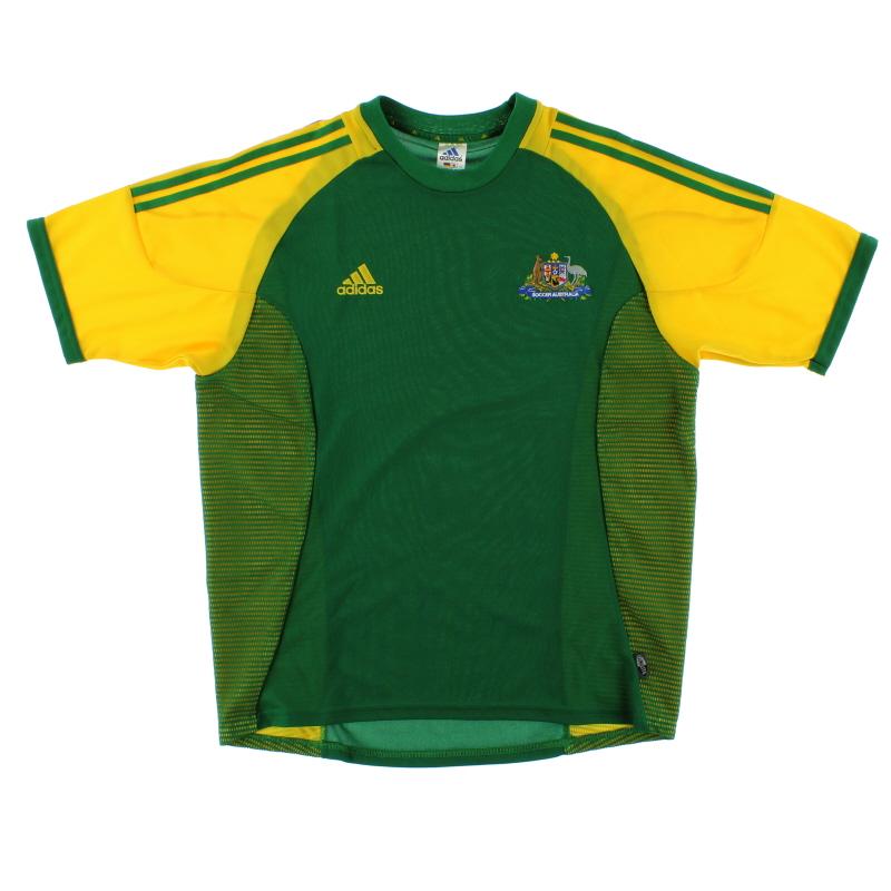 2002-04 Australia Home Shirt L