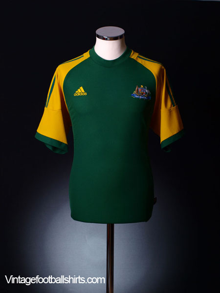2002-04 Australia Home Shirt XL