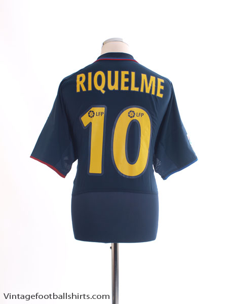 2002-04 Barcelona Away Shirt Riquelme #10 *BNWT* L